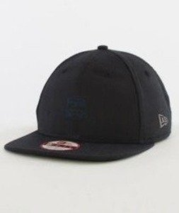 New Era-Oxford New Era Patch Snapback Black