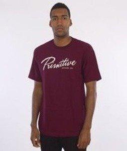 Primitive-Hudson T-Shirt Bordowy