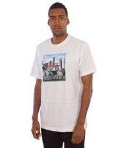 Primitive-Skyline T-Shirt Biały