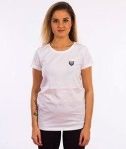 Prosto-Dive T-shirt Damski Biały