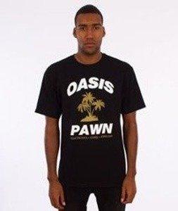 Stussy-Oasis Pawn T-Shirt Czarny