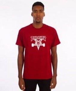 Thrasher-Skategoat T-Shirt Czerwony