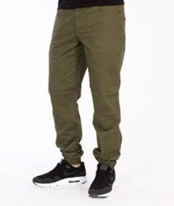 Wrung-Dusty Jogger Zielone Khaki