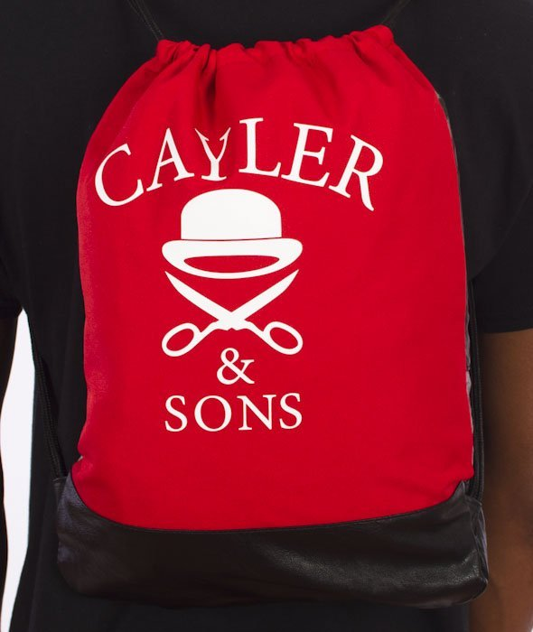 Cayler & Sons-Amsterdam Gym Bag Red/Multicolor