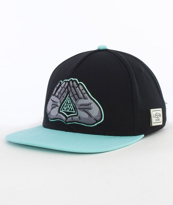Cayler & Sons-BKNY Cap Snapback Black/Mint/Grey