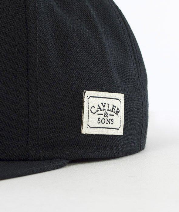 Cayler & Sons-Dolla Dolla Cap Snapback Black/Yellow/Woodland