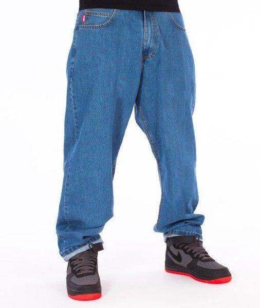 specjalne do butów ekskluzywne buty sklep internetowy El Polako-Cut Classic Spodnie Baggy Jeans Light Blue
