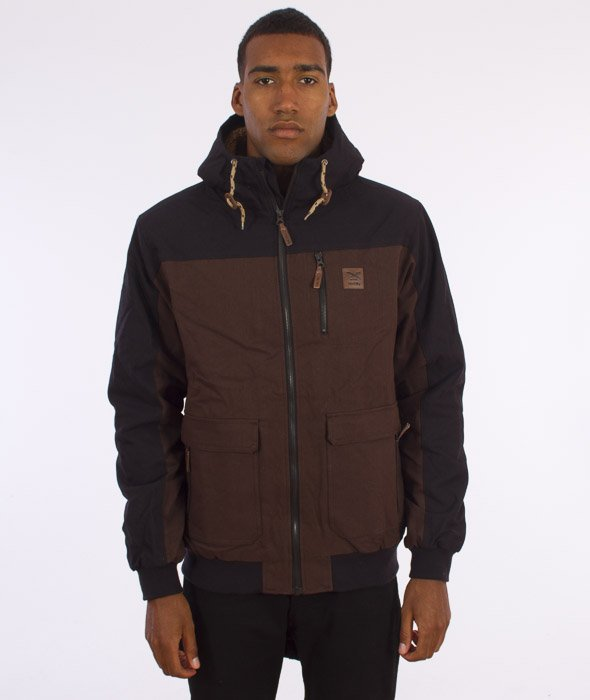Iriedaily-Dock36 Worker Jacket Kurtka D Brown