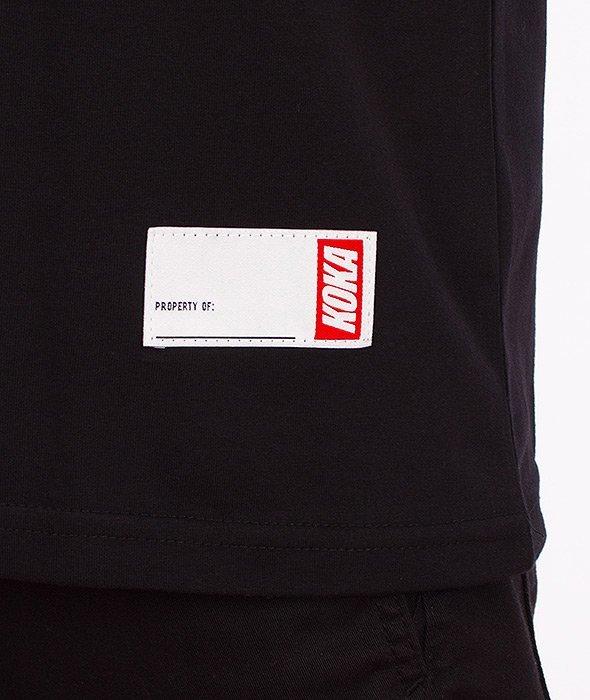 Koka-Fake T-Shirt Czarny