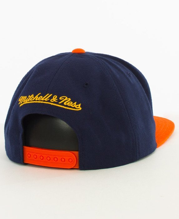 Mitchell & Ness-Golden State Warriors Snapback EU956 Navy/Orange