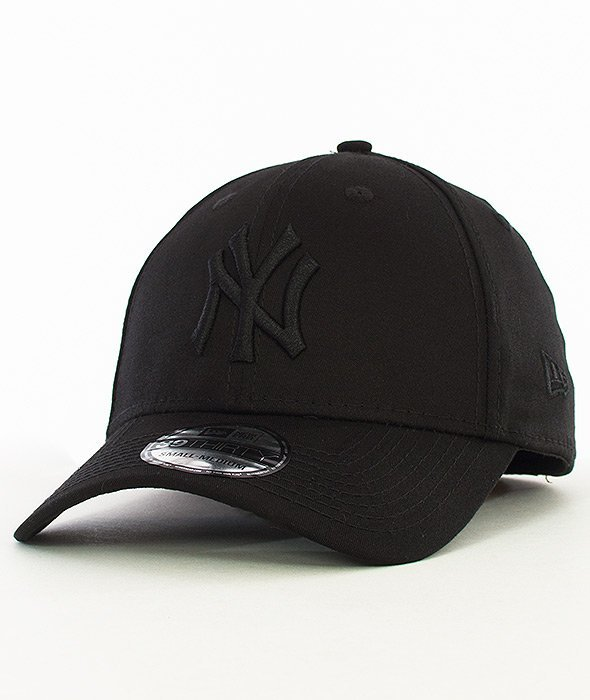 New Era-Basic New York Yankees Czapka z Daszkiem Czarna/Czarna