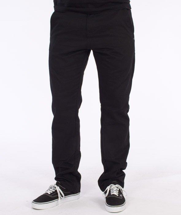 Prosto-Classic Chino Spodnie Czarne