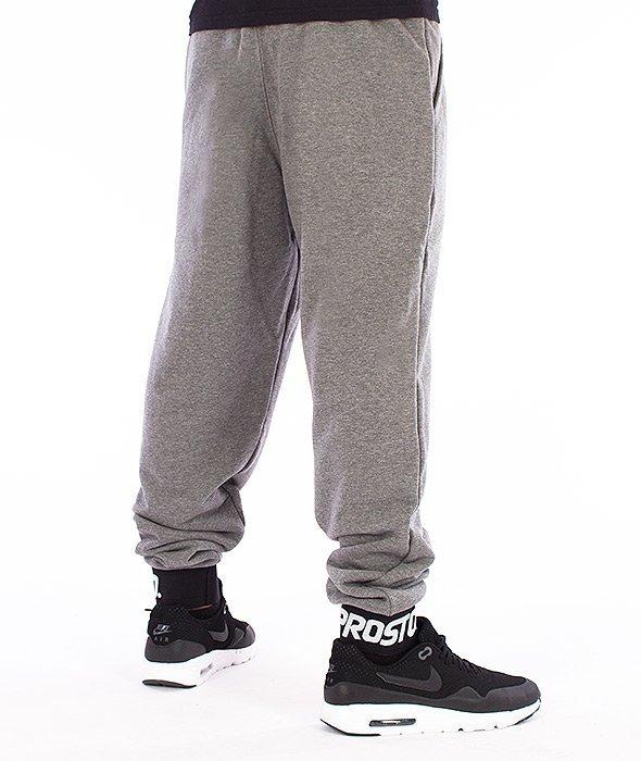 Prosto-Clear Spodnie Dresowe Szare