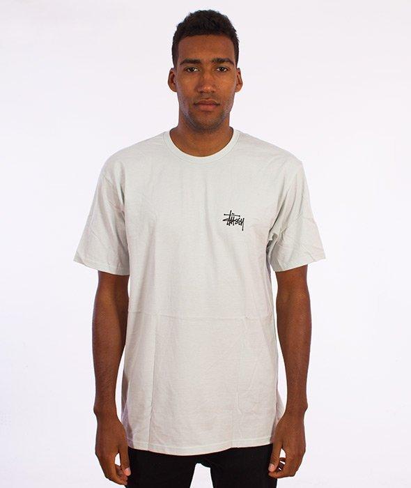 Stussy-Basic T-Shirt Biały
