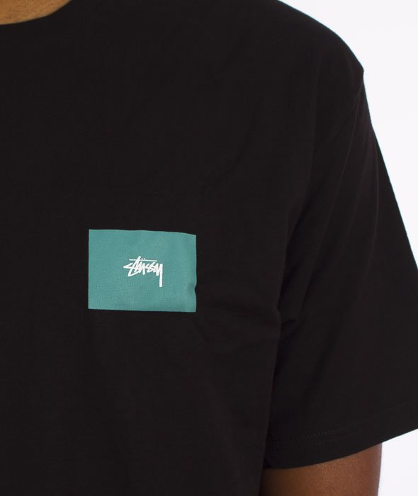 Stussy-Chapters T-Shirt Czarny
