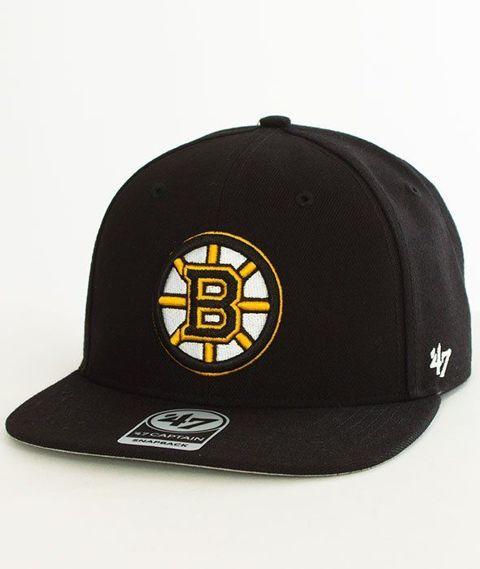 47 Brand-Boston Bruins Czapka z Daszkiem Czarna