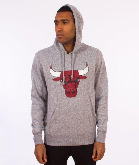 47 Brand-Chicago Bulls Bluza Kaptur Szary