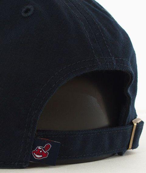 47 Brand-Clean Up Cleveland Indians Czapka z Daszkiem Granatowa