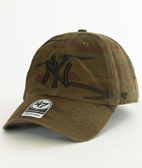 47 Brand-Clean Up New York Yankees Czapka z Daszkiem Camo