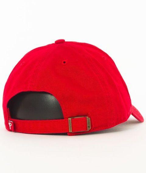 47 Brand-Clean Up Philadelphia Phillies Czapka z Daszkiem Czerwona