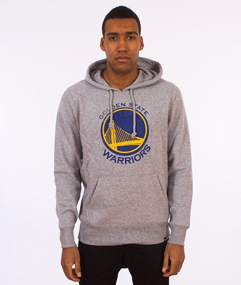 47 Brand-Golden State Warriors Bluza Kaptur Szary