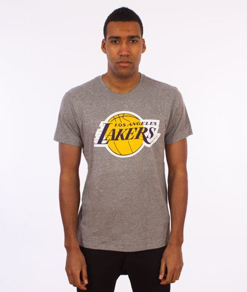 47 Brand-Los Angeles Lakers T-Shirt Szary