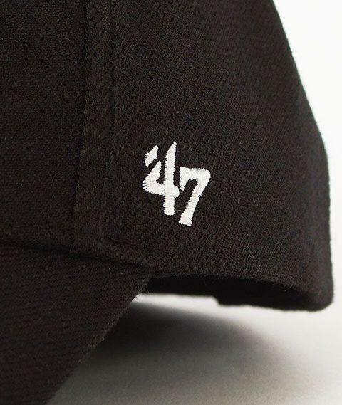 47 Brand-MVP Chicago White Sox Czapka z Daszkiem Czarna