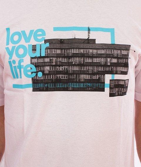Alkopoligamia-Loveyourlife T-Shirt Turkus