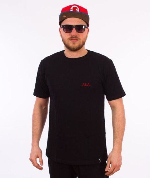 Alkopoligamia-Tour de AŁA T-Shirt Czarny