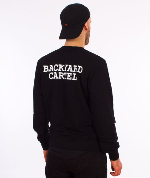 Backyard Cartel-Back Label Bluza Czarna