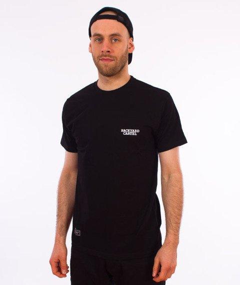 Backyard Cartel-Back Label T-Shirt Czarny