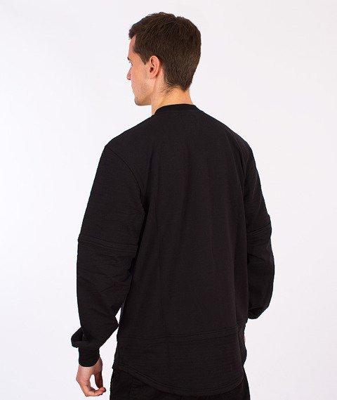Backyard Cartel-Dusk Long Crewneck Black