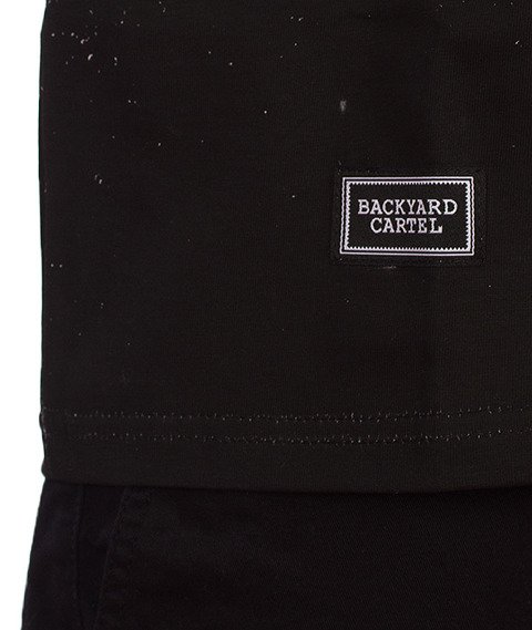 Backyard Cartel-Fade T-Shirt Black/White