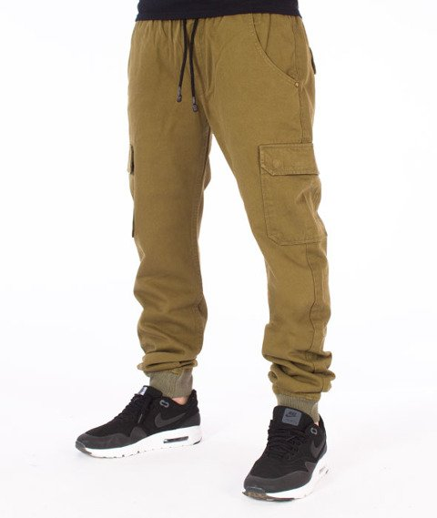 Backyard Cartel-Immortal Jogger Spodnie Khaki