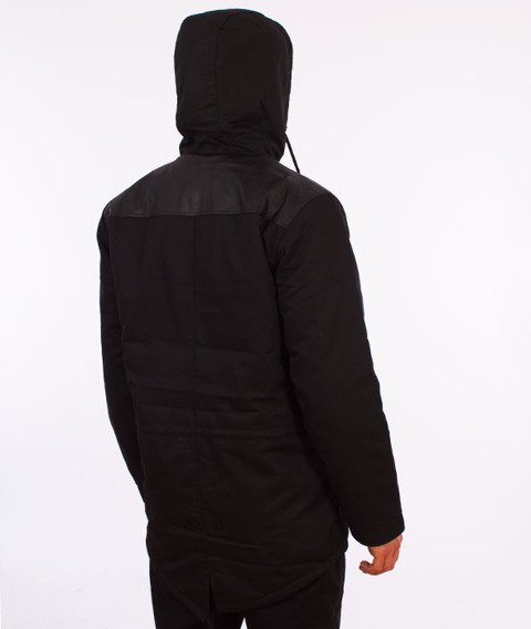 Backyard Cartel-Jacket Parka Black