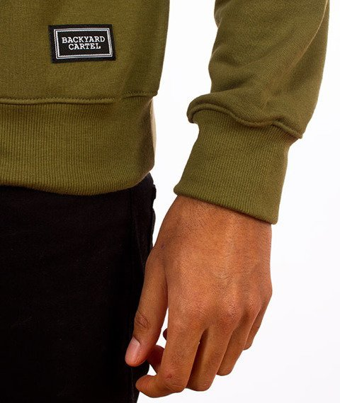 Backyard Cartel-Swish Crewneck Bluza Khaki