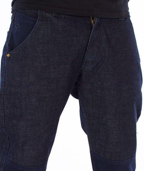 Backyard Cartel-Swish Jogger Spodnie Granatowe