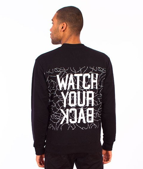 Backyard Cartel-Watch Crewneck Black