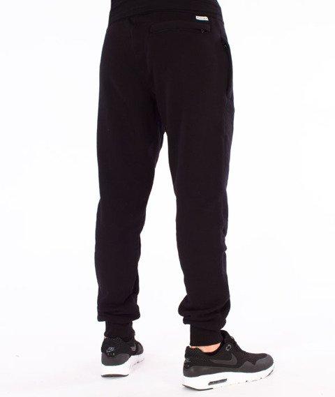 Biuro Ochrony Rapu-B Outline Spodnie Dresowe Czarne