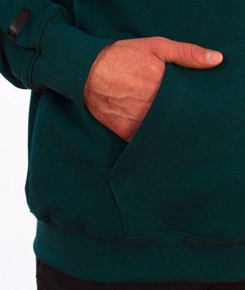 Biuro Ochrony Rapu-BOR New Outline Bluza Kangurka Kaptur Ciemny Zielony