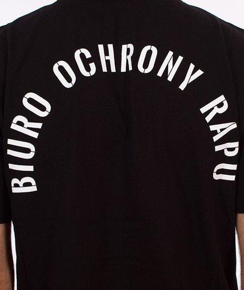 Biuro Ochrony Rapu-Bor Herb T-shirt Czarny