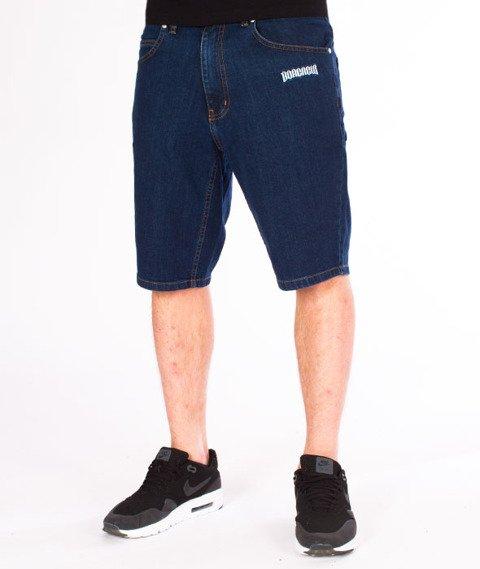 Biuro Ochrony Rapu-Borcrew Szorty Jeans Krótkie Spodnie Medium