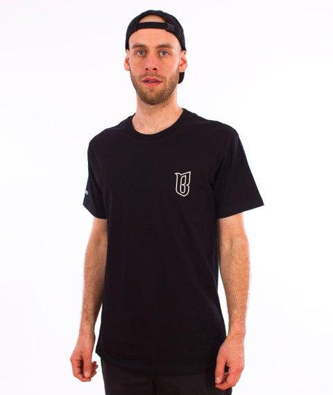 Biuro Ochrony Rapu-Classic Borcrew Outline T-shirt Czarny