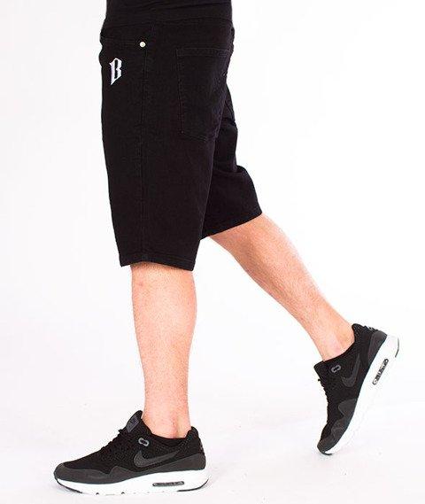 Biuro Ochrony Rapu-Classic Borcrew Szorty Tkaninowe Krótkie Spodnie Czarne