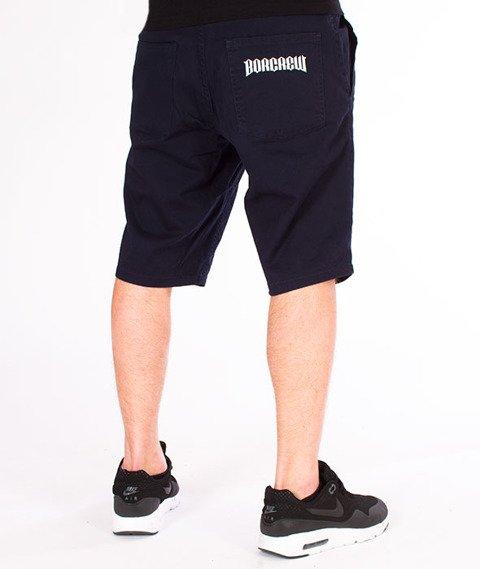 Biuro Ochrony Rapu-Classic Borcrew Szorty Tkaninowe Krótkie Spodnie Granat