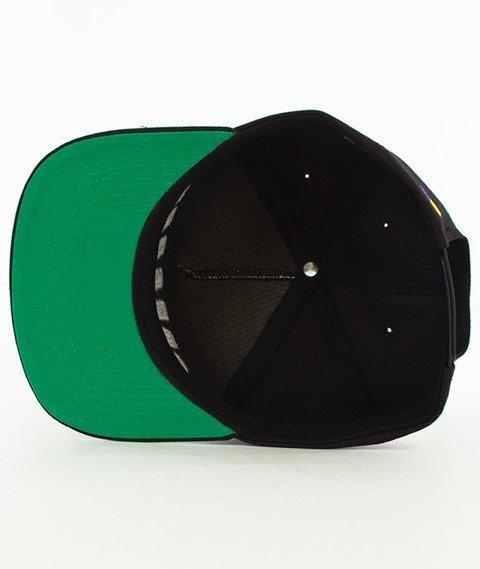 Biuro Ochrony Rapu-Color Square Snapback Czarny