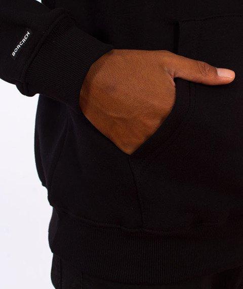Biuro Ochrony Rapu-Glitch Bluza Kaptur Czarna