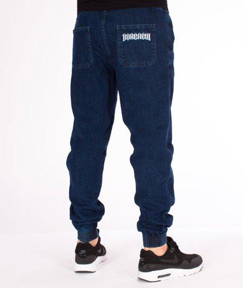 Biuro Ochrony Rapu-Jogger Fit Guma Strecz Spodnie Classic Borcrew Medium