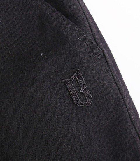 Biuro Ochrony Rapu Jogger Fit Guma Strecz Spodnie Czarny