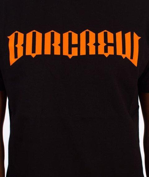 Biuro Ochrony Rapu-New Borcrew T-shirt Czarny